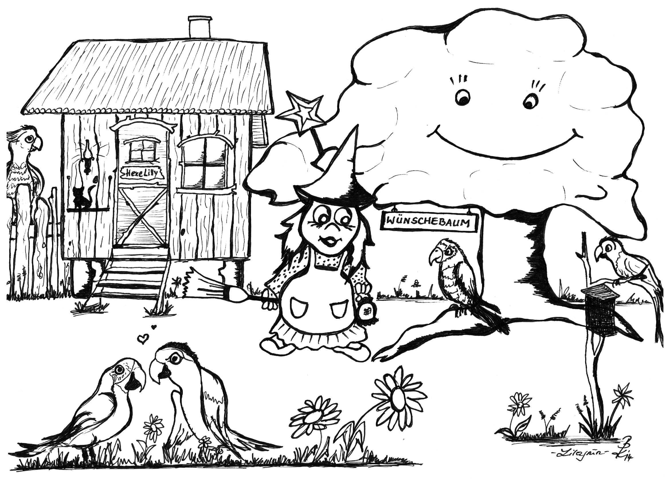 Lilli Wünschebaum Kinderanimation mit Tieren